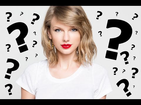 Guess The Song - TAYLOR SWIFT (Part 1)