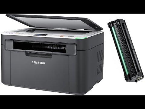 Как достать картридж из принтера самсунг scx 3200