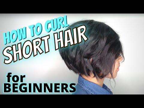 HOW TO Curl SHORT Hair w/ STRAIGHTENER (For BEGINNERS) ** HAIRSTYLIST Breakdown** @1Chair1Mirror