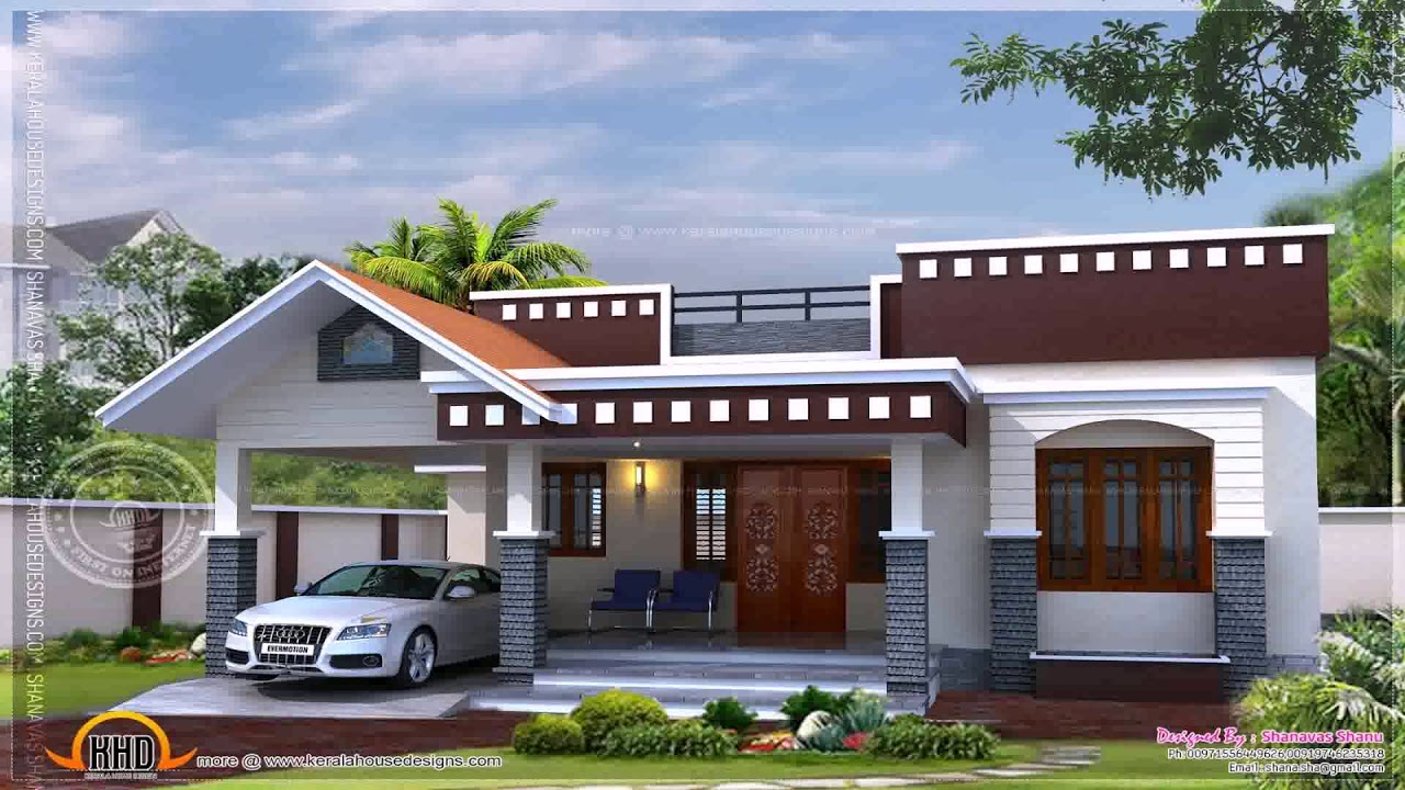 Kerala House Design With Floor Plan Youtube
