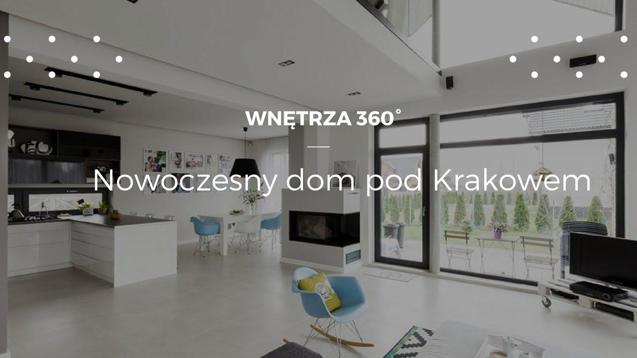 Ponadczasowy dom pod Krakowem w stylu nowoczesnym #projektwnętrz