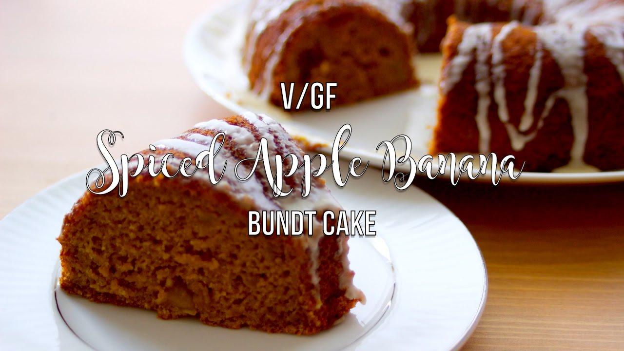 Vegan Apple Bundt Cake