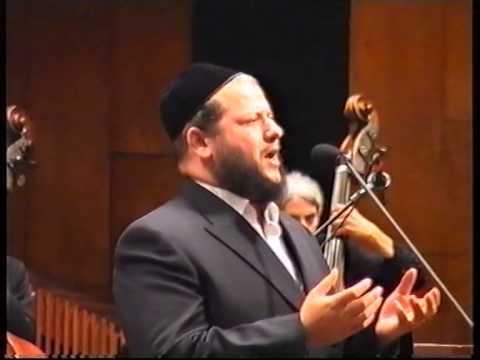 אנא עבדא - דוד קוסוביצקי - החזן העולמי יצחק מאיר הלפגוט.קונצרט מודז'יץ.
