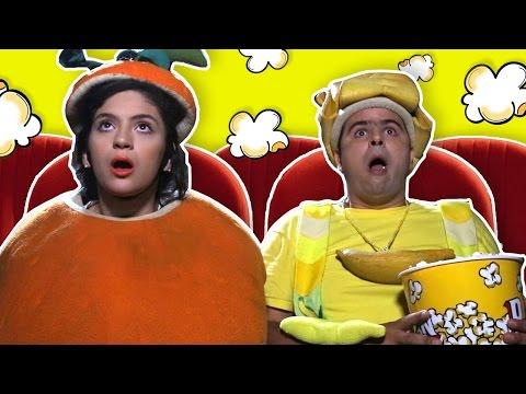 فوزي موزي والمندلينا – في صالة السينما –Going to the Cinema