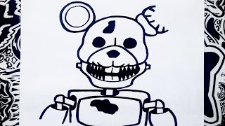 Como dibujar a rat de five nights at candy