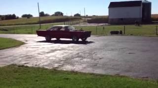 1965 Galaxie Test #burnout