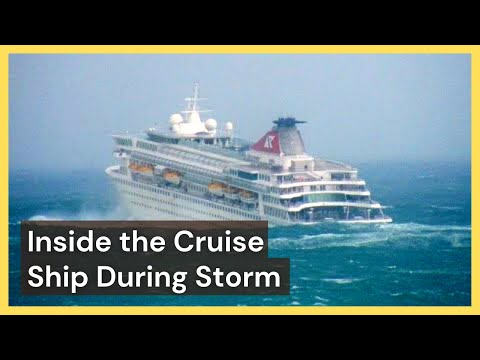 Furniture flies across deck as stranded Norway ship Viking Sky rocks violently: VIDEO