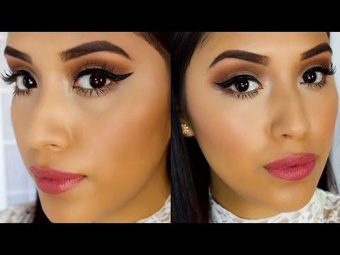 Easy everyday eye makeup
