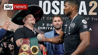 Ruiz Jr-Joshua 2: Is the fight 'sportswashing' Saudi Arabia's human rights violations?