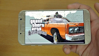 Samsung Galaxy A7 (2017) Gaming Review GTA San Andreas! (4K)