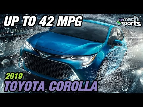 2019 Toyota Corolla Up To 42 Mpg