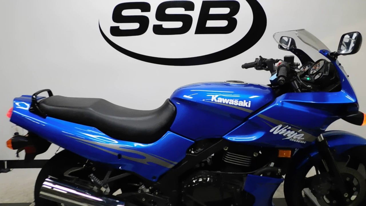 2009 kawasaki ninja 500r used motorcycles for sale eden prairie mn youtube. Black Bedroom Furniture Sets. Home Design Ideas