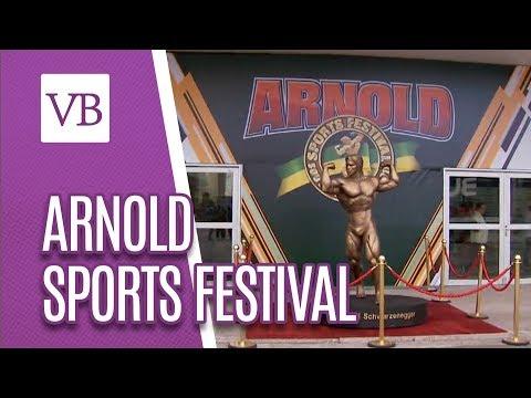 Arnold Sports Festival: Feira de Halterofilismo - Você Bonita (24/04/18)