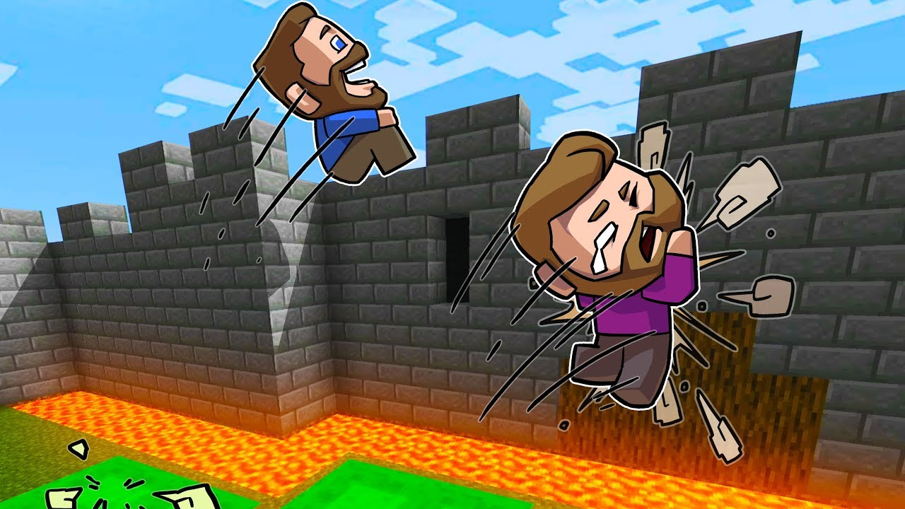 Break Into The Castle Challenge! | Minecraft