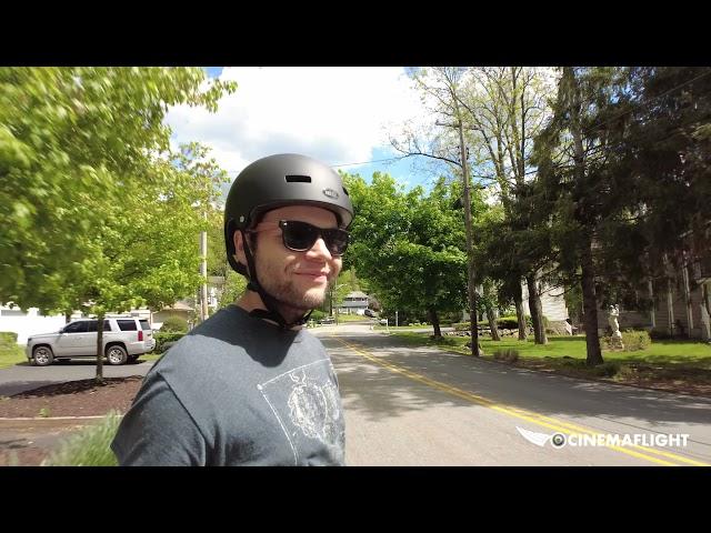 Riding OneWheel around White Meadow Lake, NJ