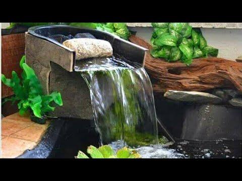 Desain Taman Dan Kolam Cantik Minimalis Lahan Sempit - YouTube