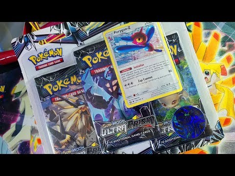 NEW ULTRA PRISM 3 PACK BLISTER OPENING! POKEMON UNWRAPPED