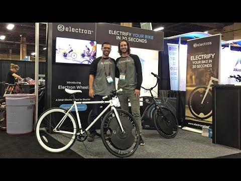 2018 Electron Wheel Electric Bike Updates from Interbike (Gen 2, 400 Watt, 36 Volt, $799)