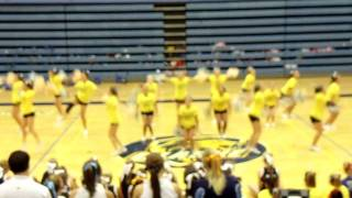 Hempstead Varsity Home Pom Routine 2011