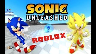 Roblox Adventures - Sonic World Adventure v1.0 [Alpha] [Sonic Unleashed]