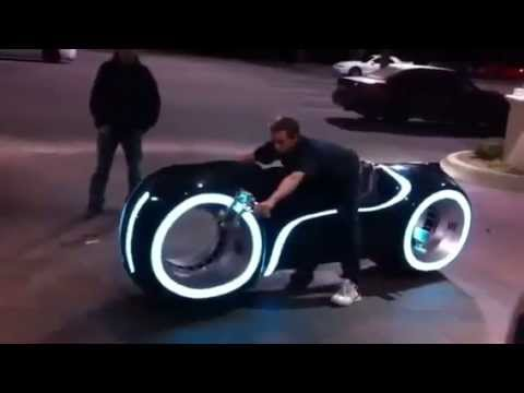 Tron The Light Bike First Luxury Light Bikes In India Auto