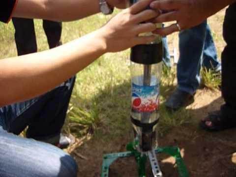 Những hướng dẫn khi chuẩn bị bắn biểu diễn tên lửa nước