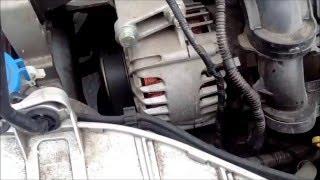 Скрежет и шум при запуске на холодную Ford Focus 3