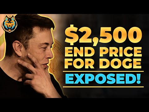 Elon Musk's Employees Leak The End Price For Dogecoin! $2,500 (Exposed)