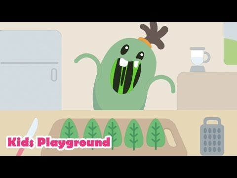 Dumb Ways JR Boffo's Breakfast -  Fun Baby Kids Games  🌿 Vegetarian