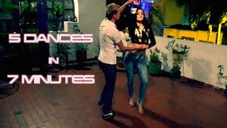 Salsa, Salsa Choke, Bachata, Merengue, Cumbia - in 7 minutes