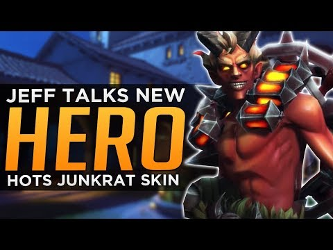 "Overwatch: NEXT HERO #26 ""Very Playable"" - NEW Junkrat HoTS Skin!"