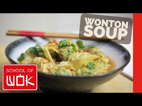 Chinese Wonton Soup Recipe That Is Packed With Flavour! | Wok Wednesdays