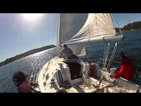 EDV in Pittwater Beneteau Cup 2015