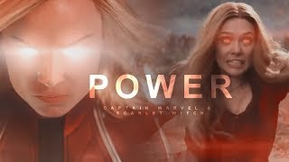 Captain Marvel & Scarlet Witch || Power