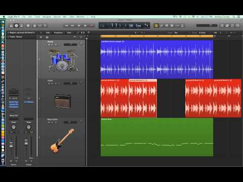 Logic Pro X - Video Tutorial 10 - Audio Edit Tools (part 1)