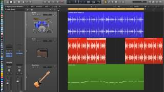 Logic Pro X - Video Tutorial 10 - Audio Edit Tools (part 1)