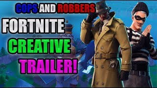 COPS AND ROBBERS MAP IN FORTNITE! *With Code*
