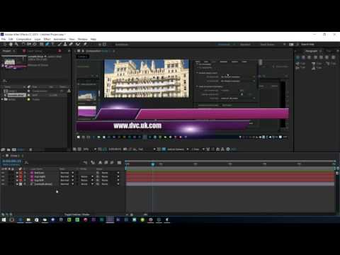 Making animated titles with After Effects and Premiere Pro-part 1-A quick summary of the process