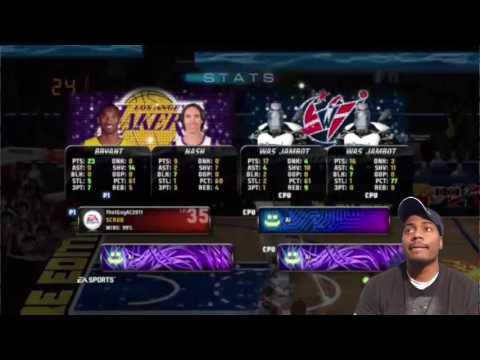 NBA JAM  JAM BOTS Lakers Vs Washington Wizards