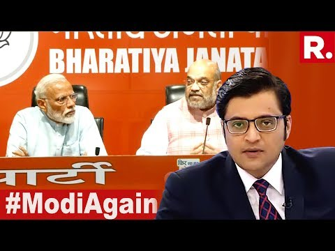 Is Modi Wave 2.0 Back In 2019? | The Debate With Arnab Goswami