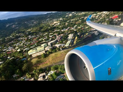 FRENCHBEE 711 | LEAVING PARADISE A350XWB - SPOTTED TAKE OFF