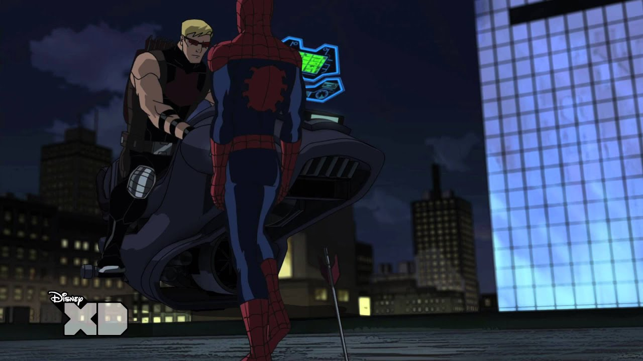 Ultimate Spider Man Hawkeye Ultimate Spider-Man - Hawkeye