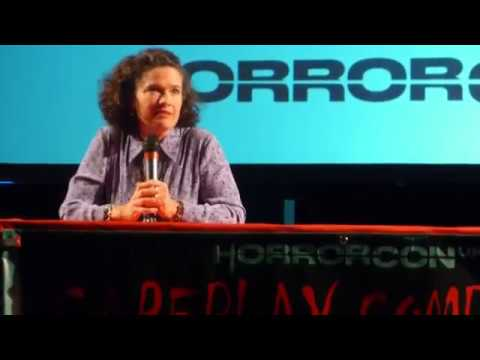 Heather Langenkamp discusses 'A Nightmare On Elm Street'. HorrorCon 2017