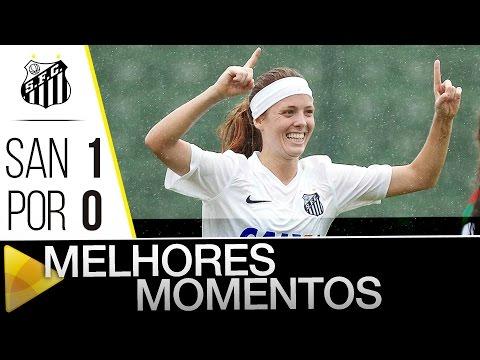 Sereias da Vila 1 x 0 Portuguesa | MELHORES MOMENTOS | Brasileirão (20/01/16)