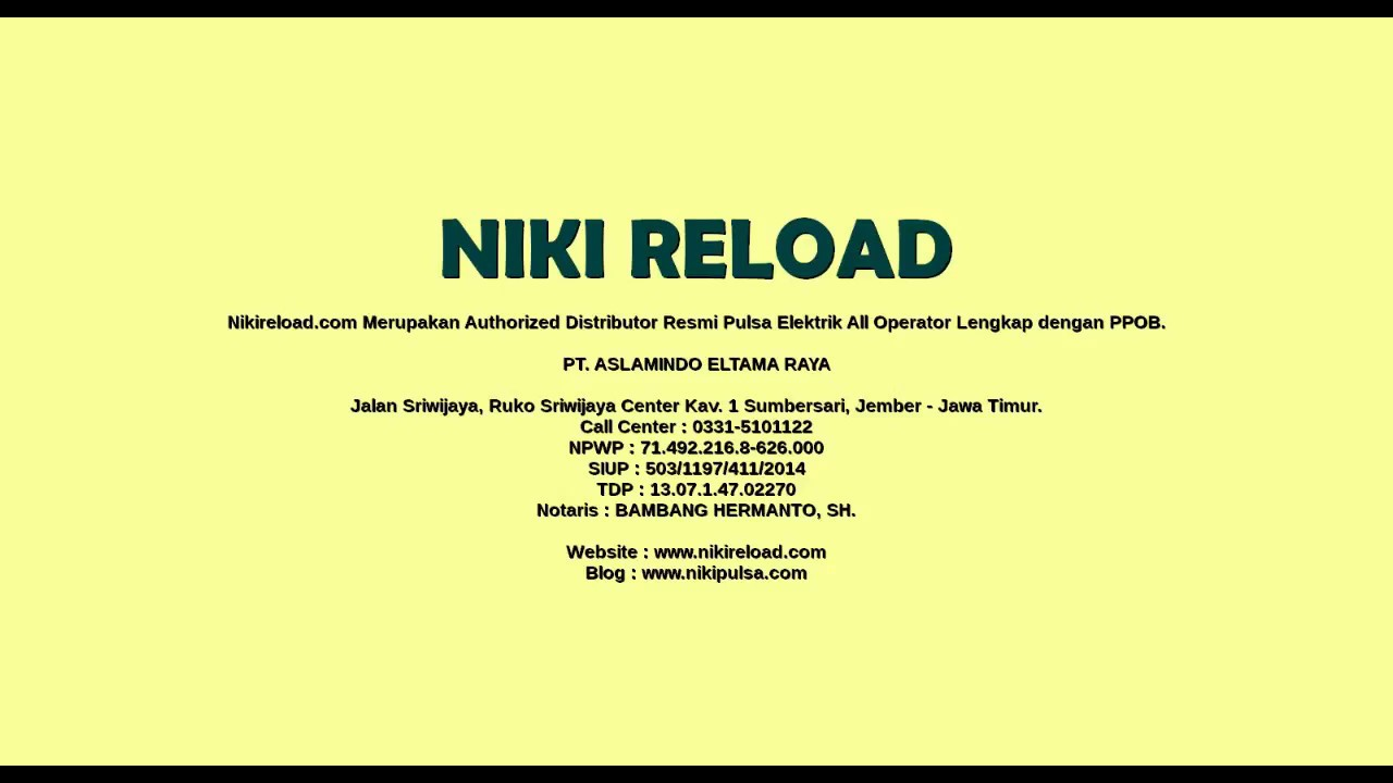 Image Result For Pulsa Niki Reload