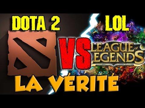 LOL VS DOTA 2 LA VRIT YouTube