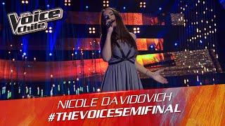The Voice Chile | Nicole Davidovich - Take me to church