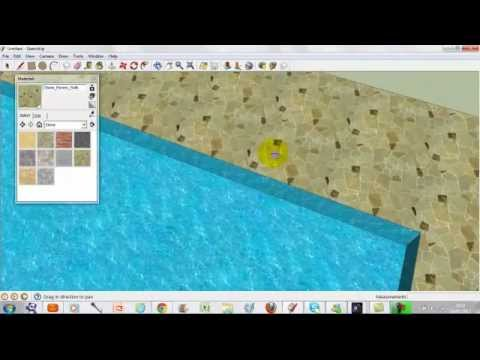 How to make a pool in sketchup youtube for Pool design sketchup