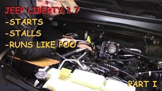 Jeep Liberty: Cranks, Starts, Stalls, Runs Rough- Part I