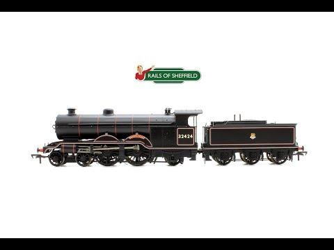 Bachmann 31-921 H2 Class Atlantic Beachy Head BR Black Locomotive